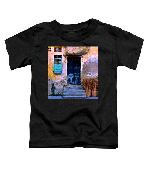 Chinese Facade Of Hoi An In Vietnam Toddler T-Shirt