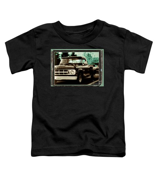 Chocolate Travels Toddler T-Shirt