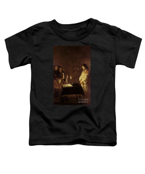 Christ Before The High Priest Toddler T-Shirt