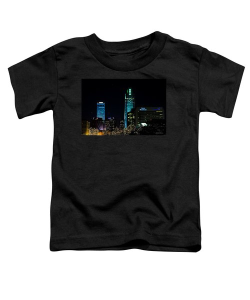 Christmas Time In Omaha Toddler T-Shirt