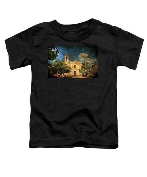 Church In Peillon Toddler T-Shirt