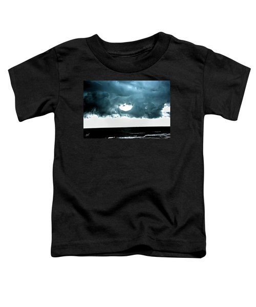 Circle Of Storm Clouds Toddler T-Shirt