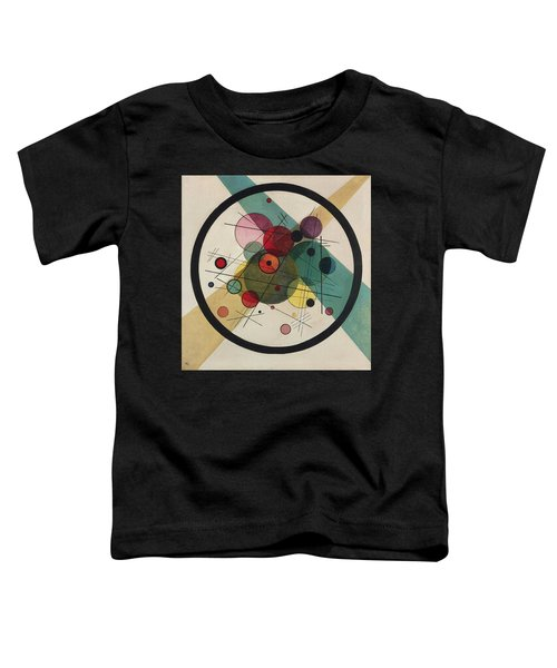 Circles In A Circle Toddler T-Shirt