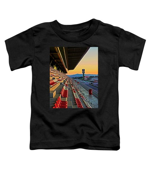 Circuit De Catalunya - Barcelona  Toddler T-Shirt