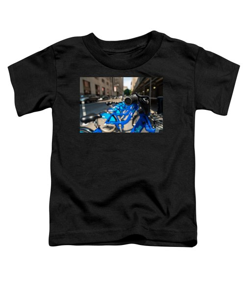 Citibike Handle Manhattan Color Toddler T-Shirt