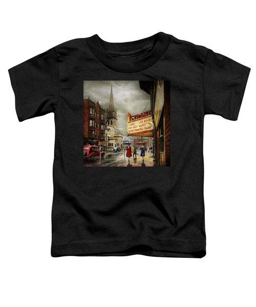City - Amsterdam Ny - Life Begins 1941 Toddler T-Shirt