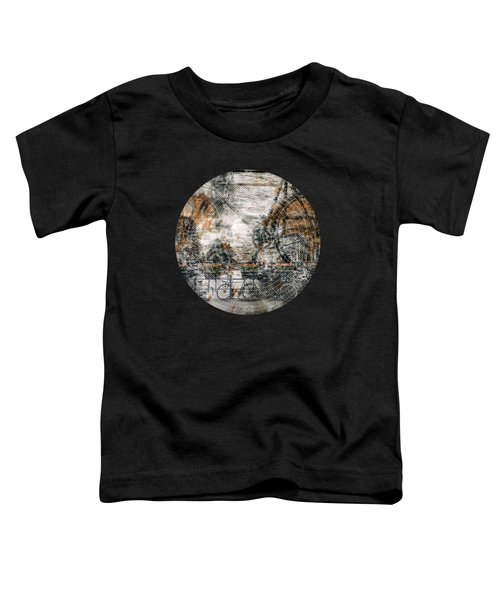 City-art Amsterdam Bicycles  Toddler T-Shirt