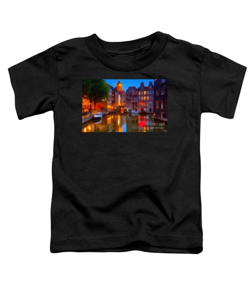 City Block 900 Soft And Dreamy In Thick Paint Toddler T-Shirt