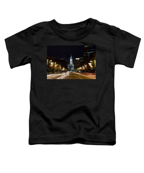 City Hall From The Parkway Toddler T-Shirt