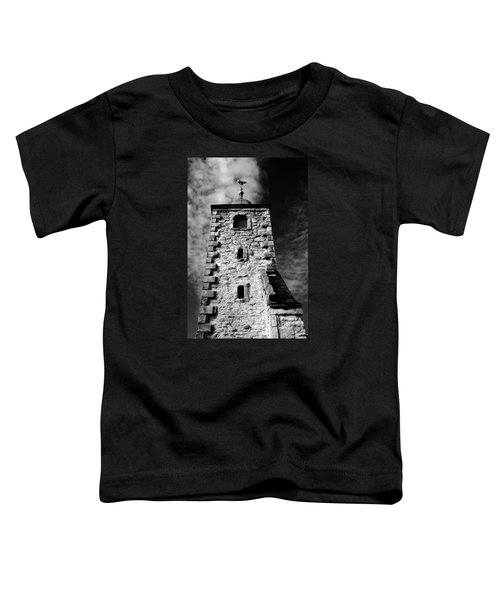 Clackmannan Tollbooth Tower Toddler T-Shirt by Jeremy Lavender Photography