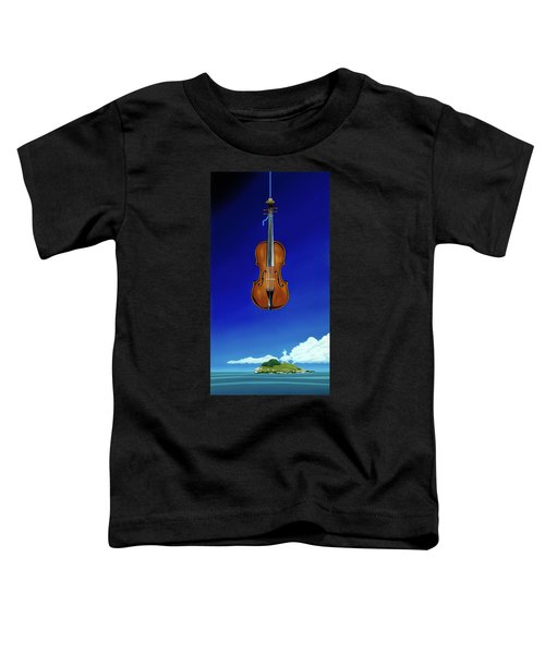 Classical Seascape Toddler T-Shirt