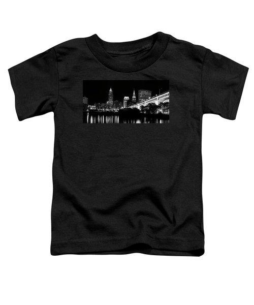 Cleveland Skyline Toddler T-Shirt