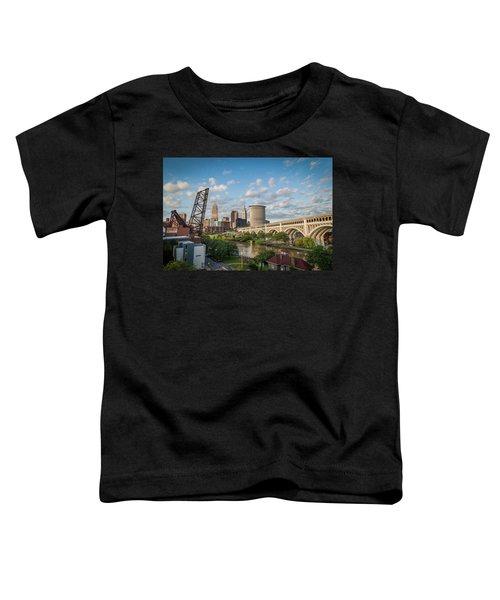 Cleveland Skyline Vista Toddler T-Shirt