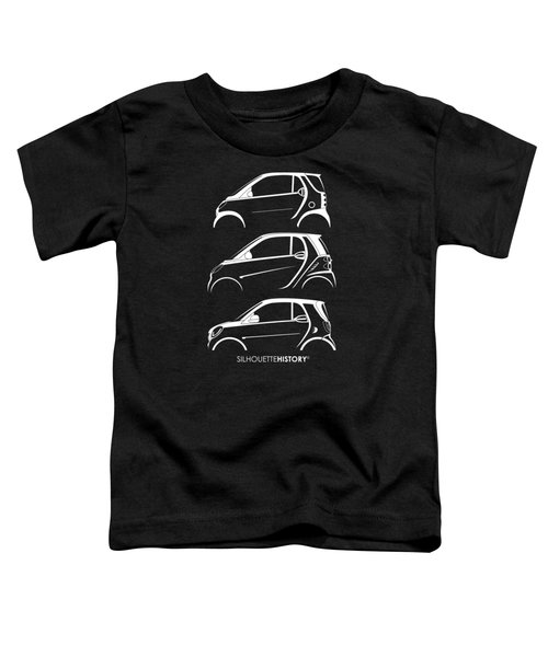 Clever Coupe Silhouettehistory Toddler T-Shirt