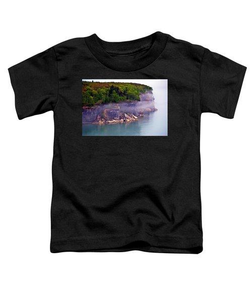 Cliff Fog Toddler T-Shirt