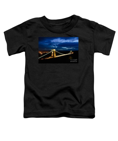 Clifton Suspension Bridge, Bristol. Toddler T-Shirt