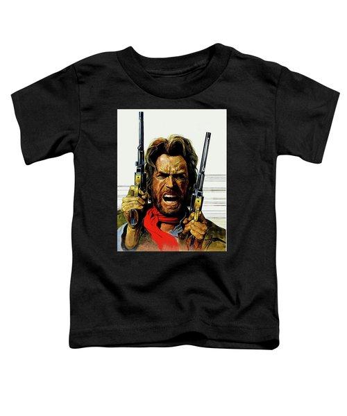 Clint Eastwood As Josey Wales Toddler T-Shirt