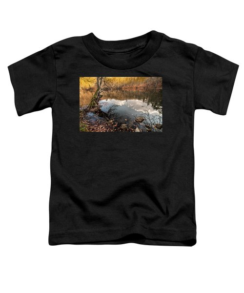 Clouds On The Lake Toddler T-Shirt