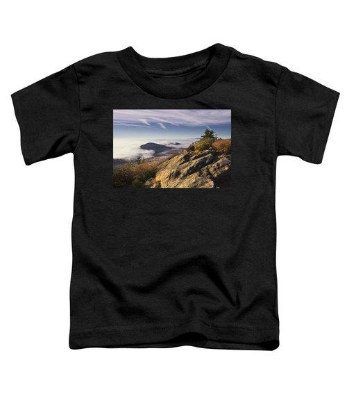 Clouds Over Grandmother Mountain Toddler T-Shirt
