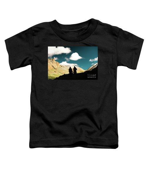 Clouds Way Kailas Kora Himalayas Tibet Yantra.lv Toddler T-Shirt
