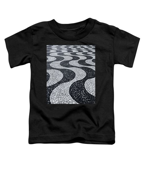 Cobblestone Waves Toddler T-Shirt