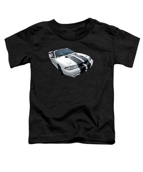 Cobra Mustang Convertible Toddler T-Shirt by Gill Billington