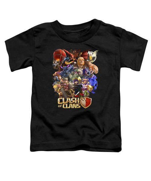 Coc Troops Toddler T-Shirt