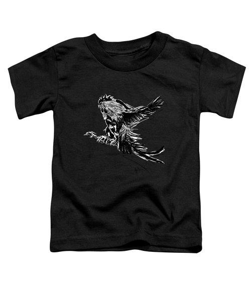 Cock Bw II Transparant Toddler T-Shirt
