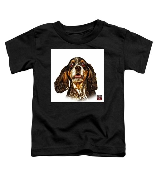Cocker Spaniel Pop Art - 8249 - Wb Toddler T-Shirt
