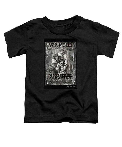 Coleman Gang Wanted Poster Toddler T-Shirt