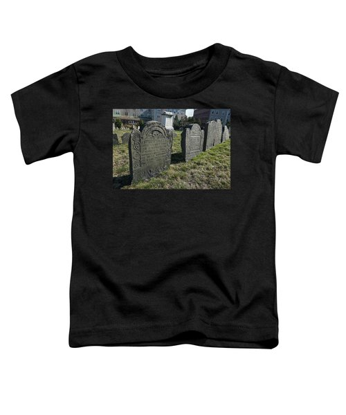 Colonial Graves At Phipps Street Toddler T-Shirt