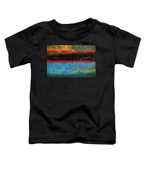Color Abstraction Xxxix Toddler T-Shirt