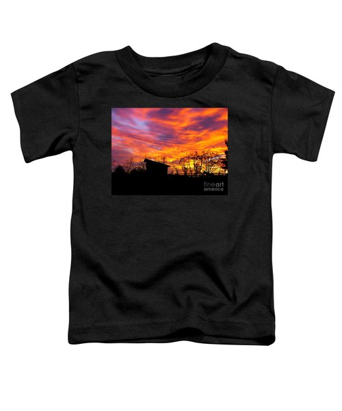Color In The Sky Toddler T-Shirt