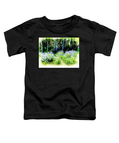Colorado Apens And Flowers Toddler T-Shirt