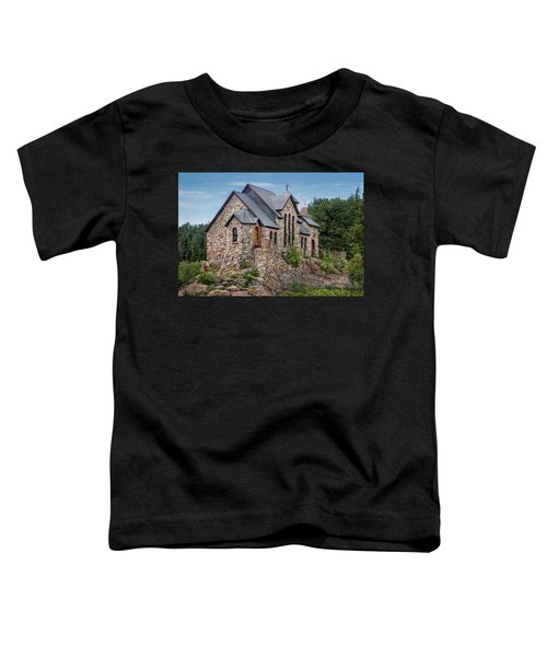Colorado Chapel On The Rock Toddler T-Shirt