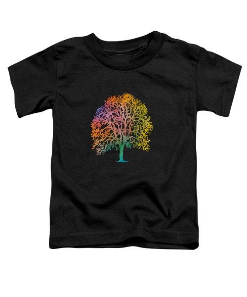 Colorful Abstract Painting Toddler T-Shirt