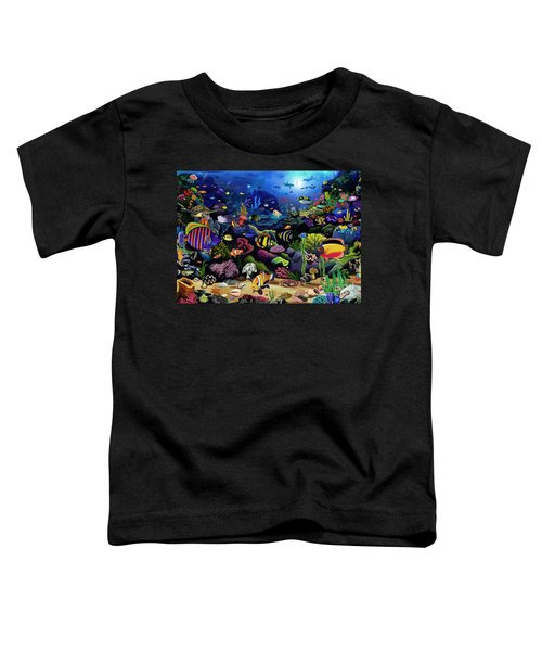 Colorful Reef Toddler T-Shirt