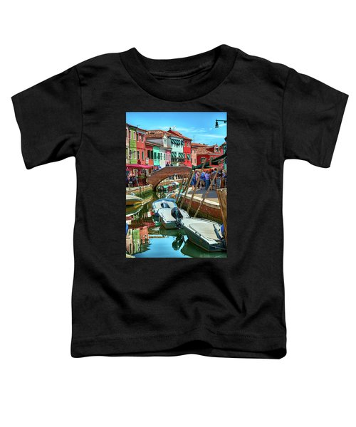 Colorful View In Burano Toddler T-Shirt