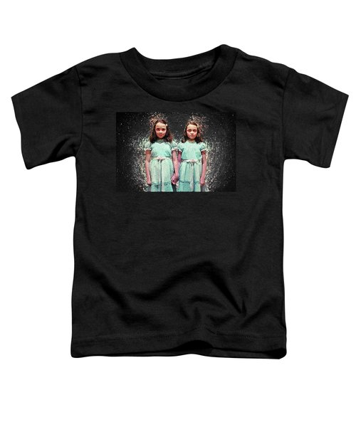 Come Play With Us - The Shining Twins Toddler T-Shirt by Taylan Apukovska