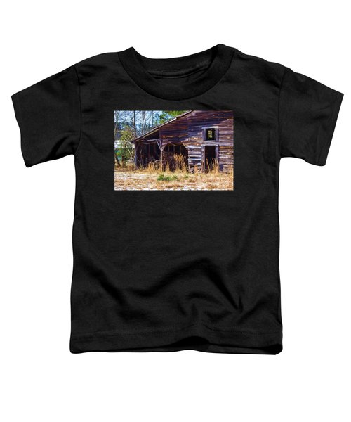 Coming Apart With Character Barn Toddler T-Shirt
