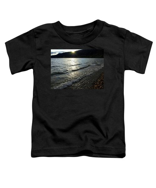 Cool Waters Sunset Toddler T-Shirt