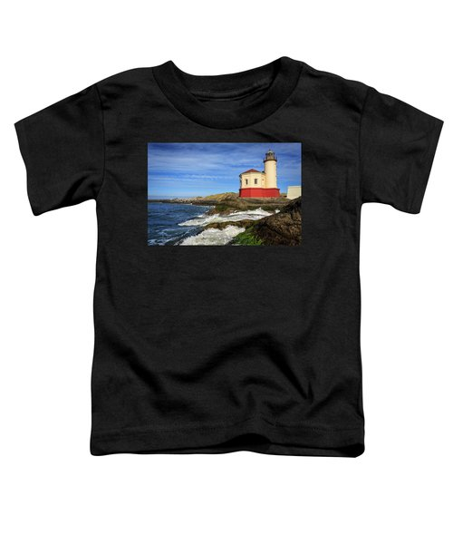 Coquille River Lighthouse At Bandon Toddler T-Shirt