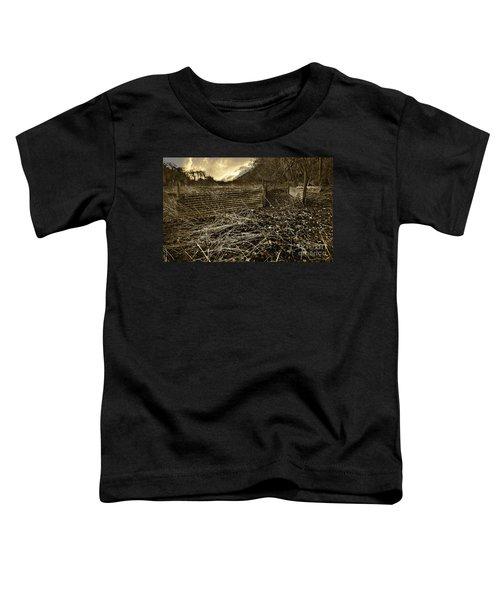 Corrugated Tin Pen Toddler T-Shirt