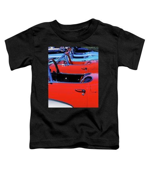 Corvette Row Toddler T-Shirt