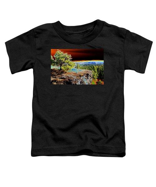 Cosmic Spokane Rimrock Toddler T-Shirt