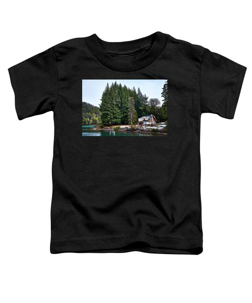 Little Cottage In The Argentine Patagonia Toddler T-Shirt