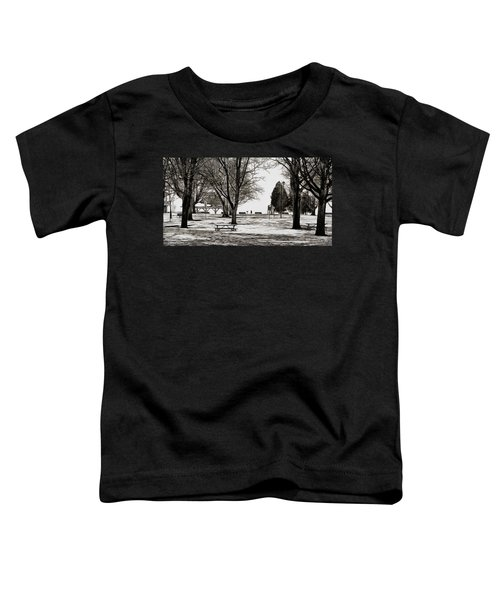 Couchiching Park In Pencil Toddler T-Shirt