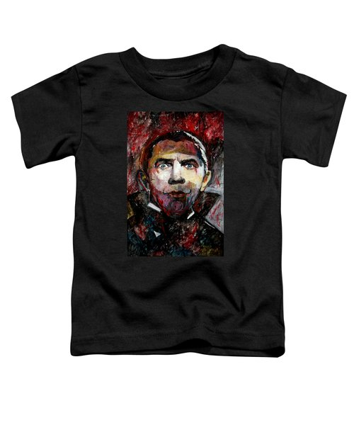 Count Dracula Bela Lugosi Toddler T-Shirt
