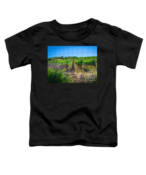 Country Lavender V Toddler T-Shirt