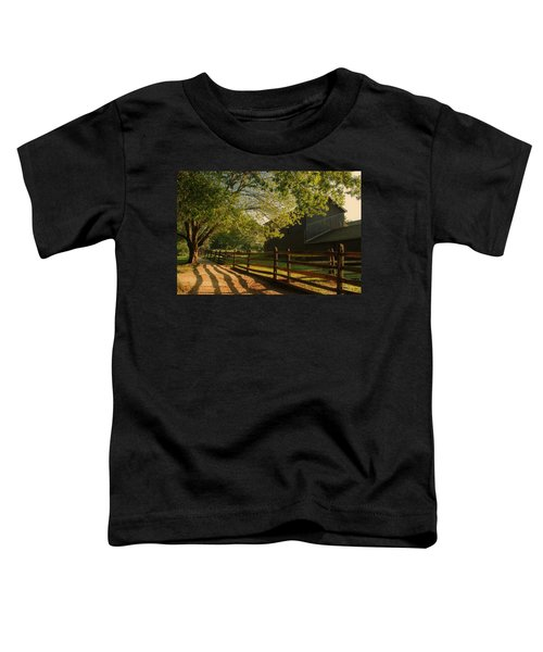 Country Morning - Holmdel Park Toddler T-Shirt